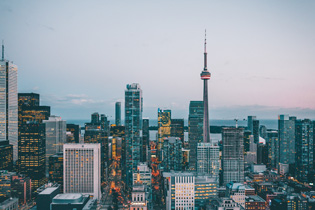 Photo of downtown Toronto