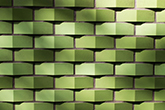 Abstract geometric green pattern