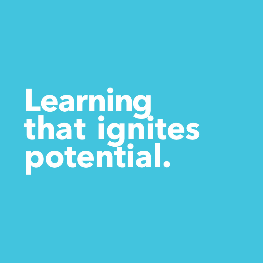 Learning that ignites potential.