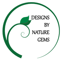 Design by Nature Gems logo