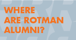Where are Rotman Alumni?
