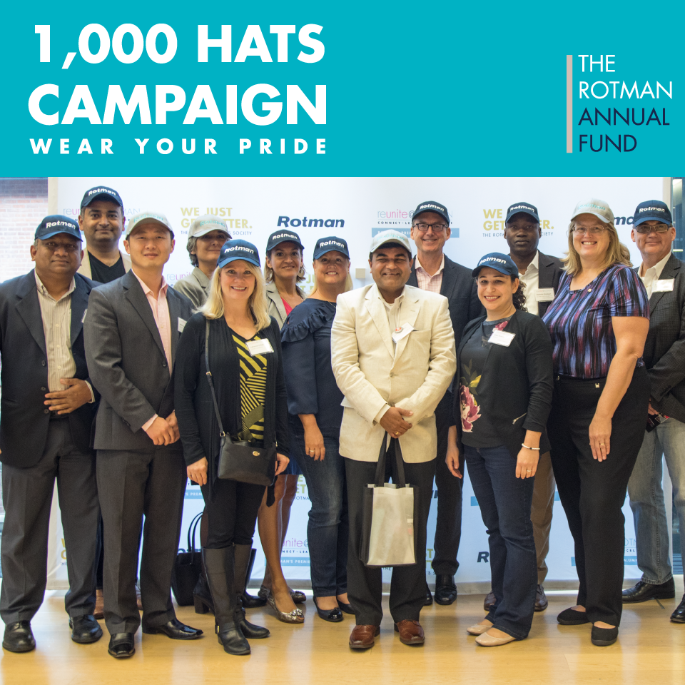 1000 Hats Campaign
