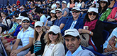 Alumni at Rogers Cup event