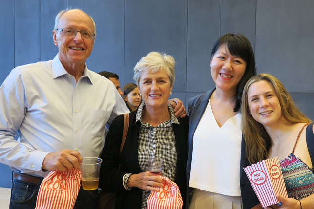 Attendees at Tiff at Rotman, Jim Fisher, Mary Lee
