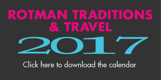 Rotman Traditions and Travel 2017