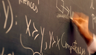 writing formulas on blackboard