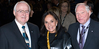 Marcel Desautels, Sandra & Joseph Rotman - Transformational Donor at the Rotman School.