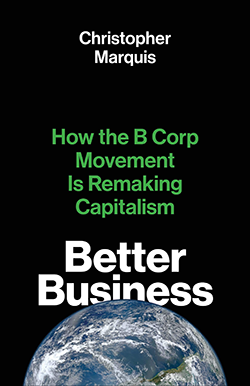 Better Business Book Cover