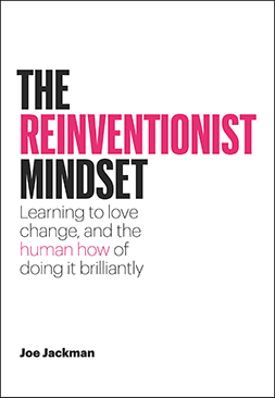 The Reinventionist Mindset Book Cover
