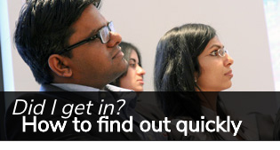 Decision Day - find out quickly if you got in to Rotman's Morning or Evening MBA