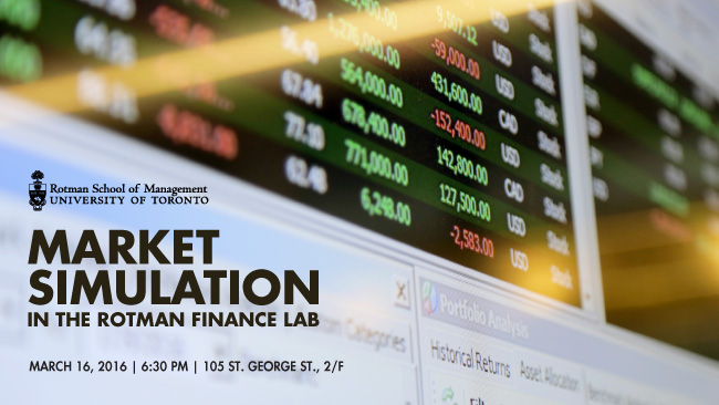 Rotman Finance Lab