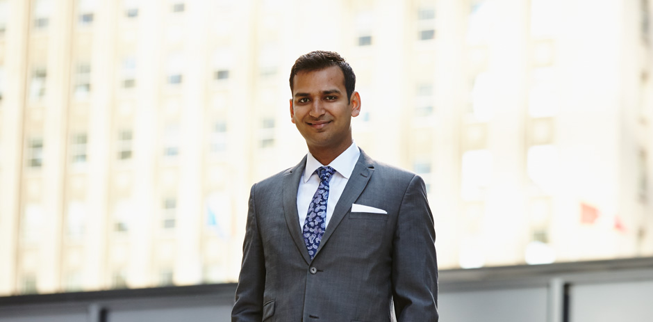 Srijan Agrawal, MFin '16, Called to the Ontario Bar, 2007