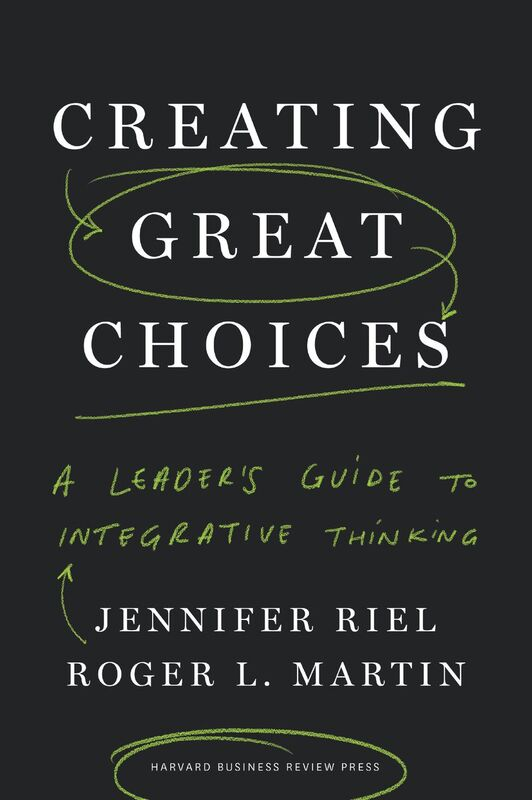 Book cover of Creating Great Choices