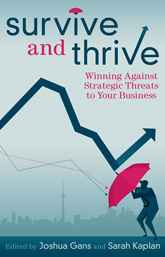 """Survive and Thrive"" book cover"