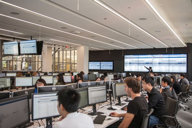 BMO financial trading lab