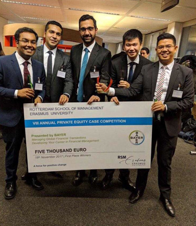 Rotman MBAS Win International Private Equity Competition.