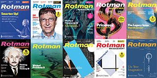 Rotman Management Magazines