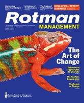 Rotman Management Magazine - Spring 2019
