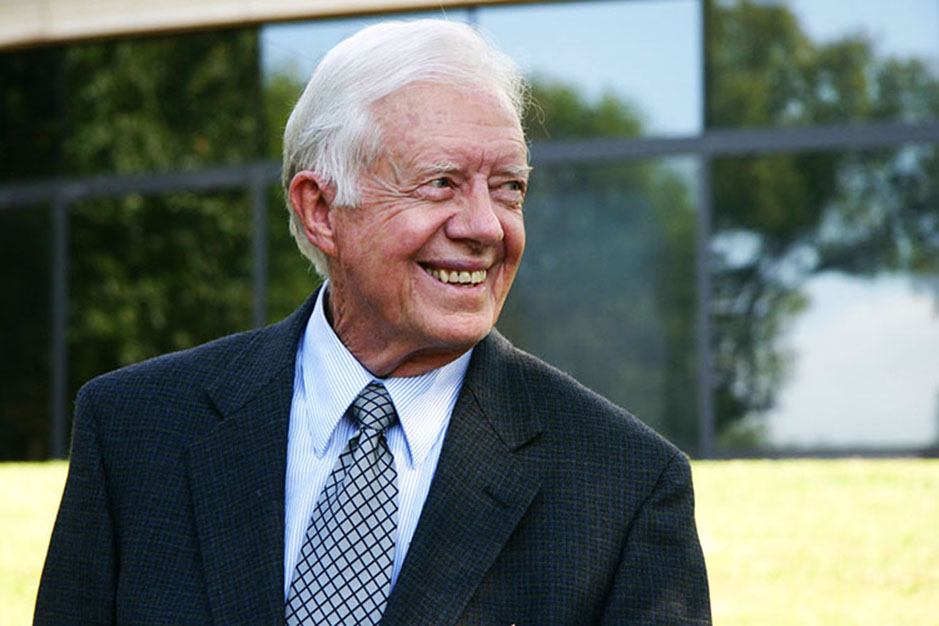 Jimmy Carter<br>39th President of the United States and Nobel Peace Prize Recipient