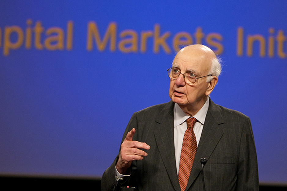 Paul Volcker<br>Chairmen of the U.S. President's Economic Recovery Advisory Board