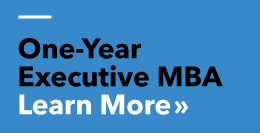 One-Year Executive MBA - Click here to learn more