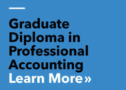 Graduate Diploma in Professional Accounting - Click here to Learn more