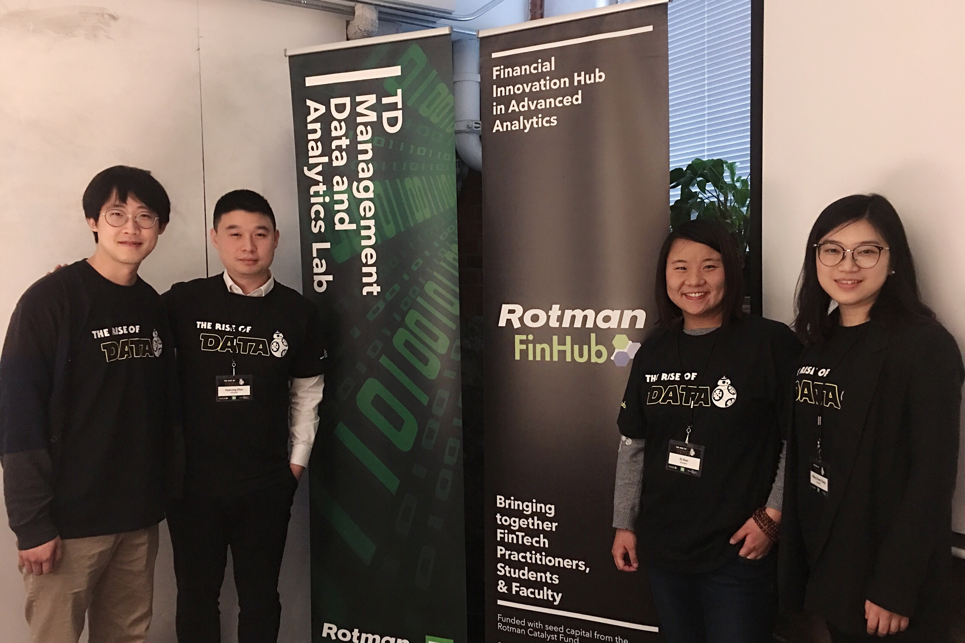 "TD Data Hackathon – ""The Rise of Data"", 2020"