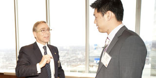 Networking with the CIBC CEO