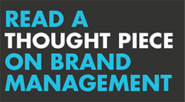 Thought piece - brand management