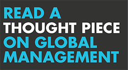 Thought piece - Global management