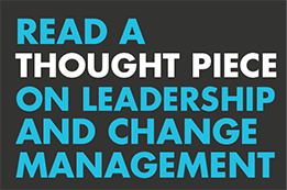Thought piece - Leadership