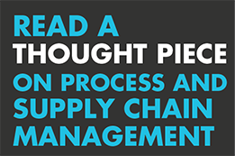 Thought piece - Supply chain management