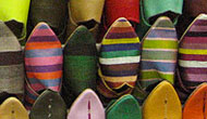 Slippers at the Market, photo by Carrie Anderson
