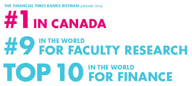 Rotman rankings