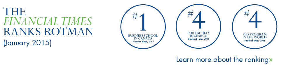 The Financial Times rankings show just how amazing our faculty members are.