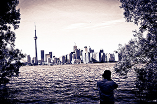 Toronto from the island