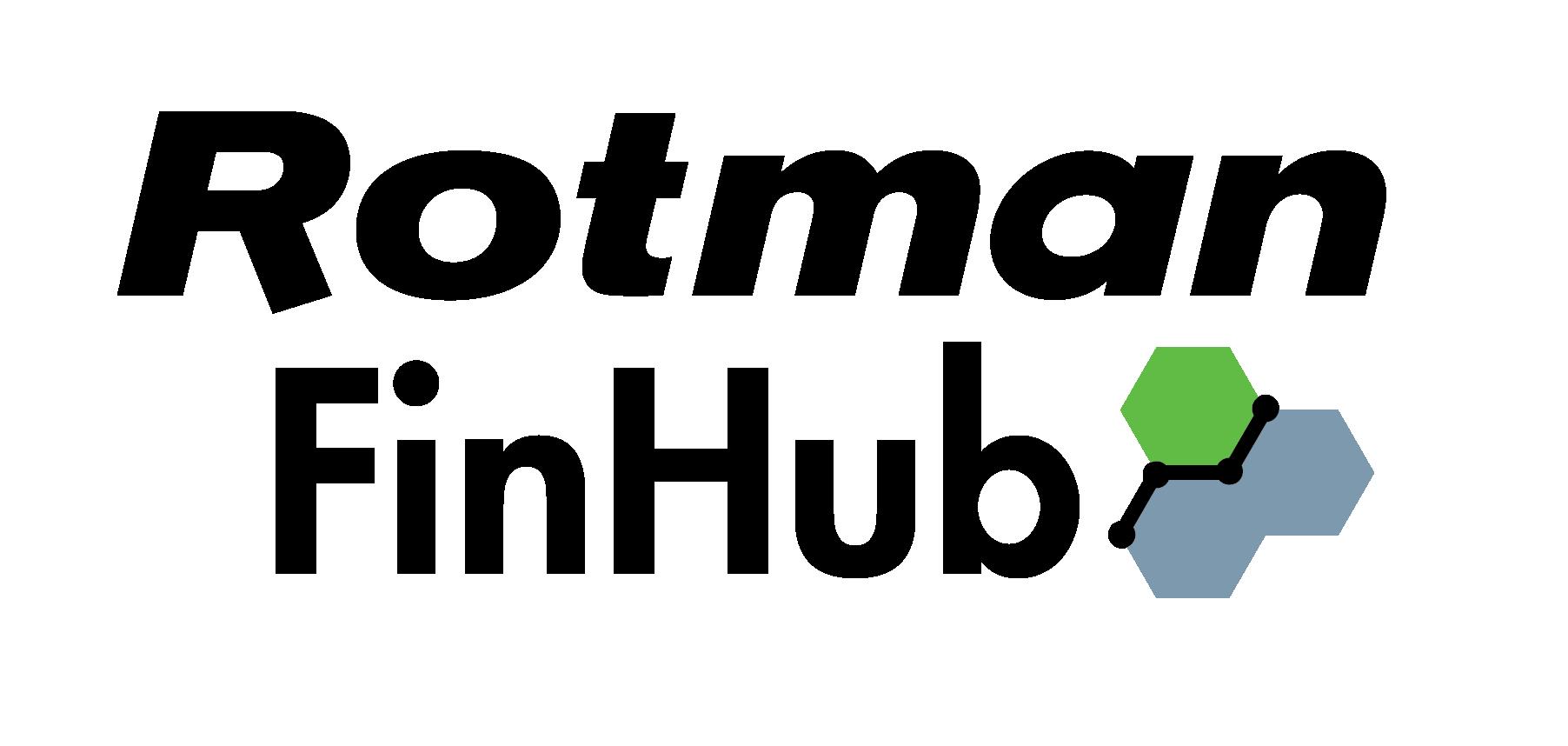 Rotman Finhub Financial Innovation Hub In Advanced Analytics